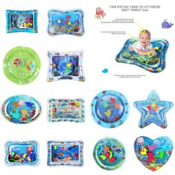 Baby Kids Water Play Mat Inflatable Thicken PVC Infant Tummy