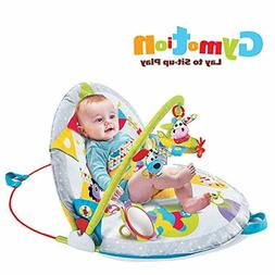 baby lay to sit up play mat