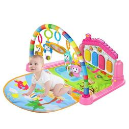 baby light musical gym play mat lay