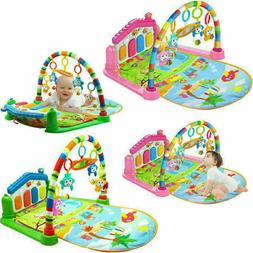 Baby Light Musical Gym Play Mat Lay & Play Fitness Fun Piano