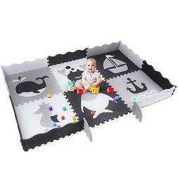 Baby Play Mat, 6.8FT 4.9FT Floor Mats for Kids Non-Toxic Sof
