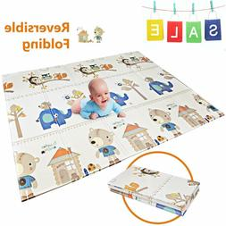 Baby Play Mat | BPA Free Non-Toxic Foam Folding Baby Care Pl