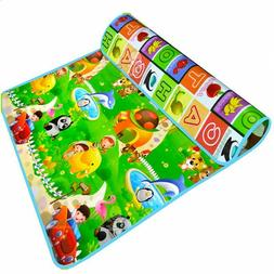Baby Play Mat Crawling Pad Eva Foam Waterproof Plastic Surfa