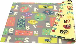 BABY PLAY MAT FOAM ALPHABET FLOOR GYM - LETTERS & NUMBERS
