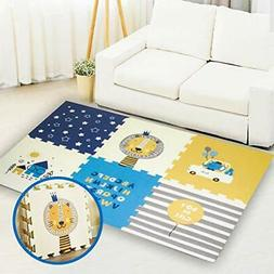 Baby Play mat Kid's Puzzle Exercise mats for Infants with XP