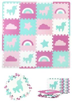 Tadpoles Baby Play Mat, Kid'S Puzzle Exercise Play Mat – S