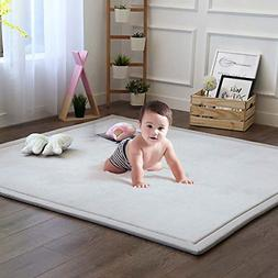 Baby Play Mat, Soft Play Rugs for Boys Girls Infant Baby Tod