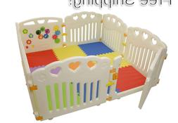 baby playpen with play mat included playard