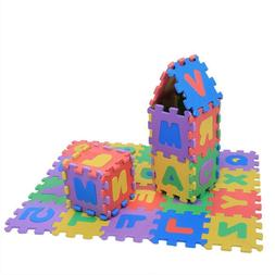 baby puzzle mats numbers letters carpet kids