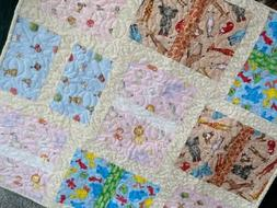 Baby Quilt,  Play Mat, Nursery Decor, Precious Moments, Sesa