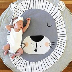 USTIDE Baby Rugs Creeping Crawling Mat Cartoon Sleeping Rugs