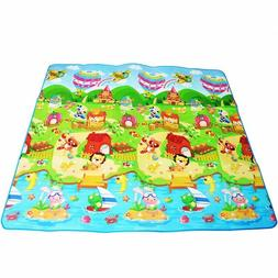 Baby Thick Crawling Play Mat, Educational Alphabet Game Rug