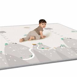New Baby Toddler Crawl Mat Reversible Non-Slip Floor Play Ma