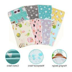 Baby Travel Nappy Diaper Bedding Changing Pad Waterproof Flo