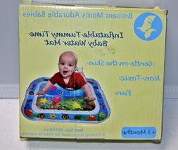 Baby Tummy Time Water Play Mat for Girl Boy Infants Fun Acti