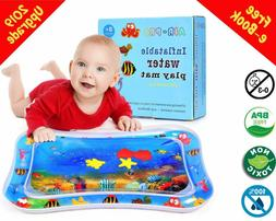 Baby Water Play Mat, inflatable,motor skills,fun,float,toy,t