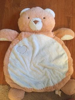 bear bestever baby play mat soft plush