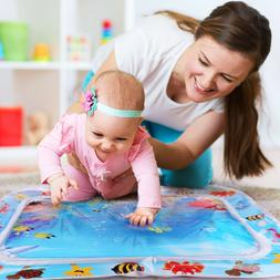 Baby Infants Tummy Time mat Fill Water Play Mat 26'' Large S