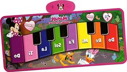 Big Floor Piano Mat Toy Giant Key Play Step On Minnie Mouse