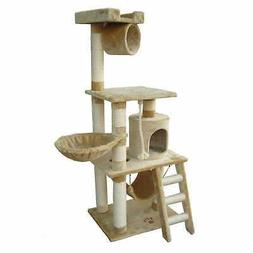 Kitty Mansions Boston Cat Tree, Beige