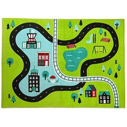 Hallmark Busy City Canvas Play Mat Baby & Toddler Toys Trans
