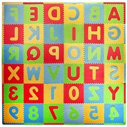 Tadpoles? by Sleeping Partners ABC 36-Piece Playmat Set in M
