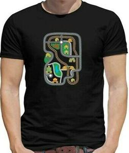 Car Play Mat Mens T-Shirt - car Track - Cars - Race - Racing