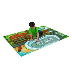 Disney Cars Jumbo Mega Mat with Vehicle