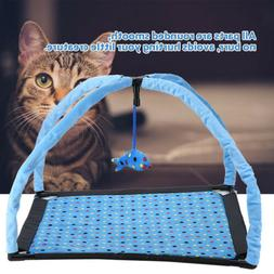 Cat Kitten Play House Pet Pad Mat Bed Activity Tent with Pla