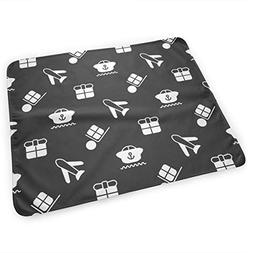 LXXYZ Changing Pad Delivery Seamless Pattern Portable Diaper