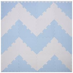 Chevron Play Tiles | Kids Foam Puzzle Mats | Soft EVA Floori
