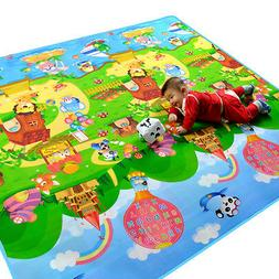 child infant baby kids crawling game waterproof