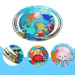 children play mat inflatable water infant belly