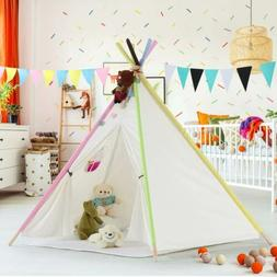 Children Play Tent with Floor Mat& Ventilated Window for Ind