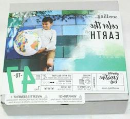 educational creative art color the earth inflatable