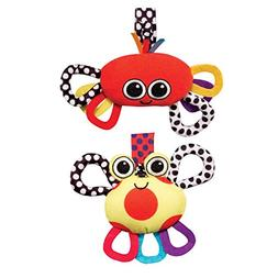 Sassy Crab Chime and Lobster Jitter, 2 Count