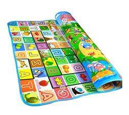 crawling play mat toddlers floor