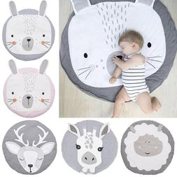 Cute Soft Cotton Baby Game Play Mat Gym Activity Pad Crawlin