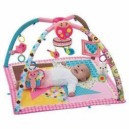 Deluxe Activity Gym & Play Mat Twist and Fold Music Infantin