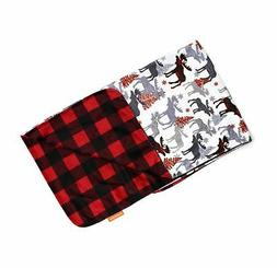 deluxe blankets plaid