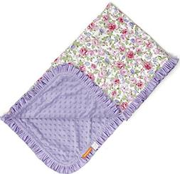 Dear Baby Gear Deluxe Baby Blankets, Cotton Vintage Floral P