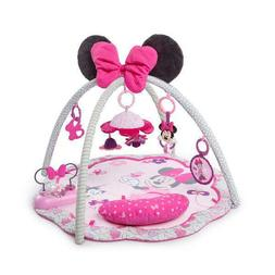 Disney Baby Girl Minnie Mouse Activity Gym and Play Mat for