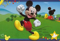 "Large Disney 54""x80"" Extra Soft Non-Slip Back Area Rug"