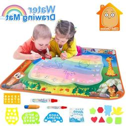 Doodle Mat With Play Pen EVA Rubber Crafts Magic Water Drawi