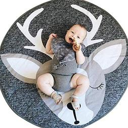 elk nursery rug play mat