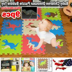 EVA Non-Toxic Foam Floor 9PC Child Puzzle Baby Toddler Kid P