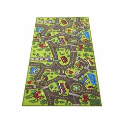 "Extra Large 79"" x 40""! Kids Carpet Playmat Rug- Great For Pl"