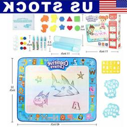 Extra Large Water Drawing Doodle Mat Mess Free Girls Boys Ag