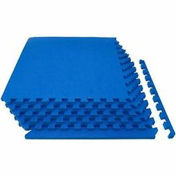 Extra Thick Puzzle Exercise Mat Interlocking Tiles Protectiv