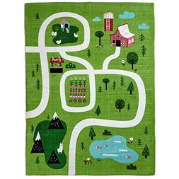 Hallmark On The Farm Canvas Play Mat Baby & Toddler Toys Ani